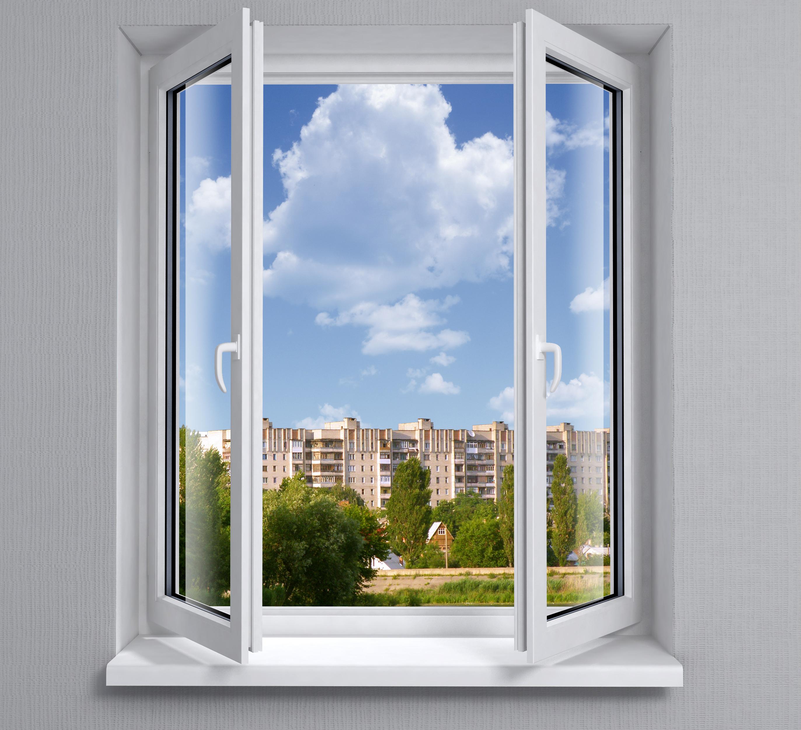 Najhitrejše prezračevanje - okna na stežaj in ustvarjanje prepiha.